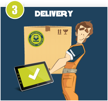 Your package will be delivered with digital proof of delivery.